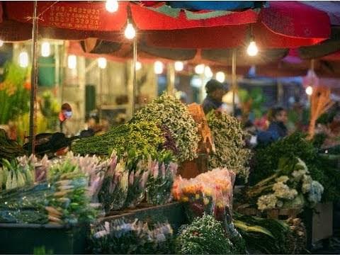 Chợ hoa Quảng An -  Nơi hội tụ sắc hương Hà Nội - 2