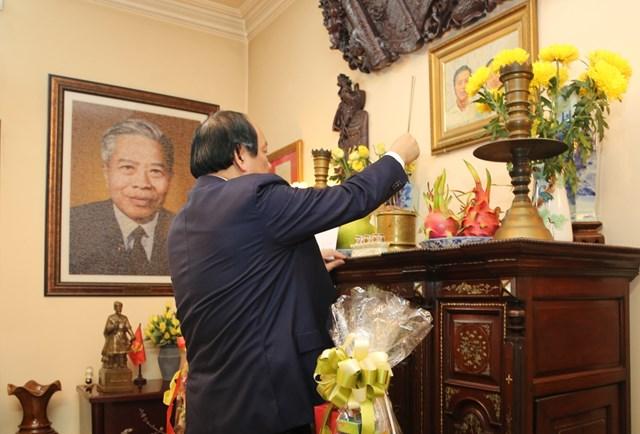 Bộ trưởng, Chủ nhiệm VPCP chúc Tết nguyên lãnh đạo Đảng, Nhà nước - 3