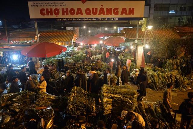 Chợ hoa Quảng An -  Nơi hội tụ sắc hương Hà Nội