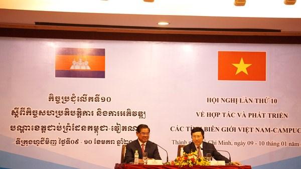 Tăng cường hợp tác và phát triển các tỉnh biên giới Việt Nam - Campuchia - 2