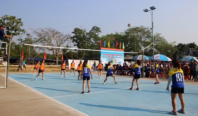 Sôi nổi giải bóng chuyền nữ tỉnh Quảng Nam năm 2019 - 1
