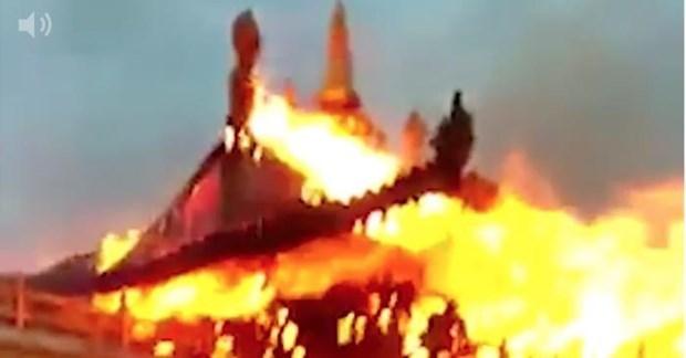 Điểm lại những vụ hỏa hoạn thiêu rụi các di sản văn hóa thế giới - 2