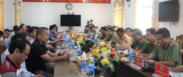Công an tỉnh Quảng Nam gặp mặt báo chí - 1