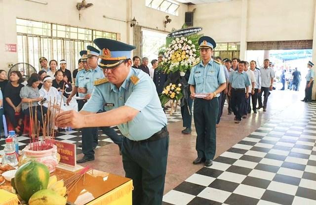 Khánh Hòa: Lễ truy điệu 2 phi công hy sinh khi đang huấn luyện