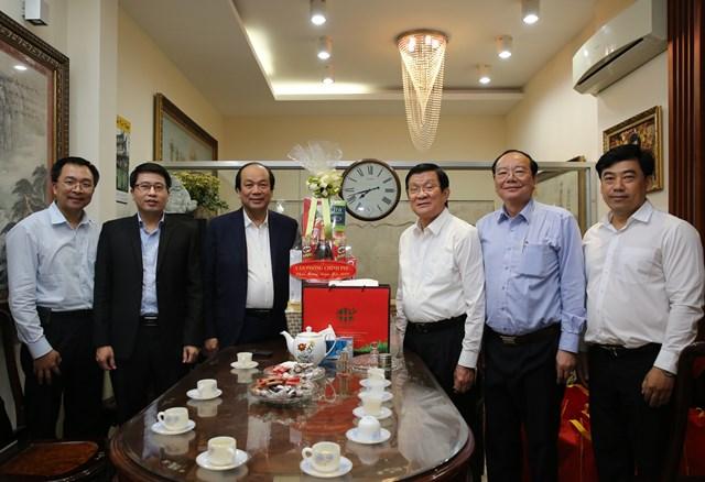 Bộ trưởng, Chủ nhiệm VPCP chúc Tết nguyên lãnh đạo Đảng, Nhà nước - 2