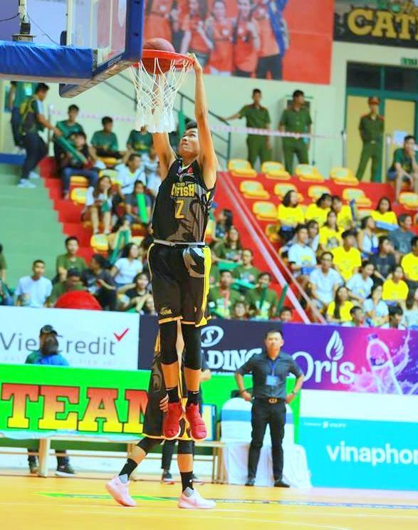Nguyễn Huỳnh Phú Vinh – Tài năng trẻ của bóng rổ Việt Nam