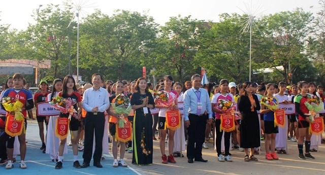Sôi nổi giải bóng chuyền nữ tỉnh Quảng Nam năm 2019 - 2