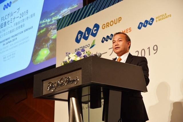 Tập đoàn FLC giới thiệu hệ sinh thái sản phẩm cao cấp tới các nhà đầu tư hàng đầu Nhật Bản