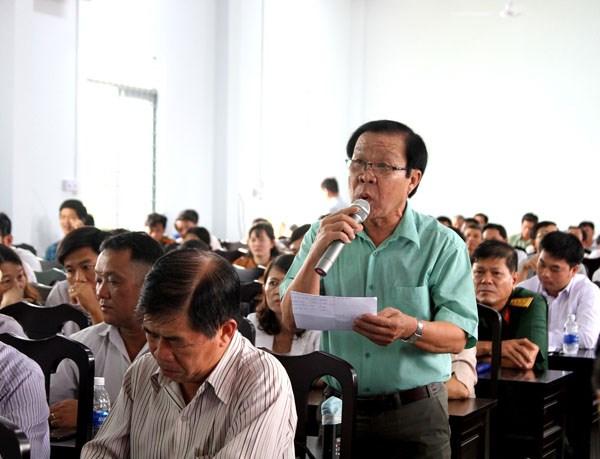 Chủ tịch Trần Thanh Mẫn tiếp xúc cử tri tại Cần Thơ - 3