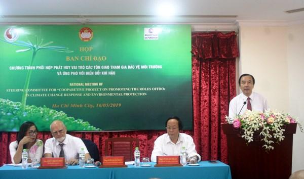 Phát huy vai trò của tôn giáo tham gia bảo vệ môi trường - 2