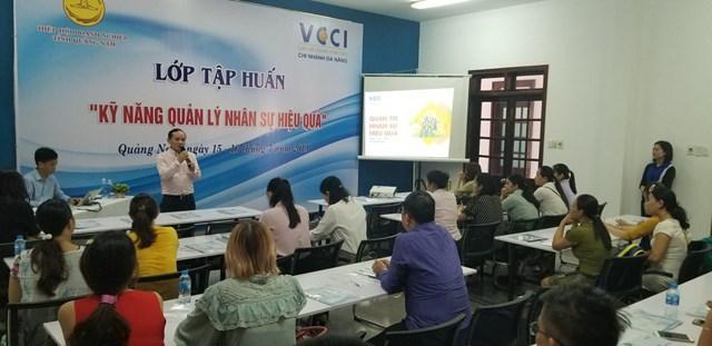 Quảng Nam: Tập huấn 'Kỹ năng quản lý nhân sự hiệu quả'