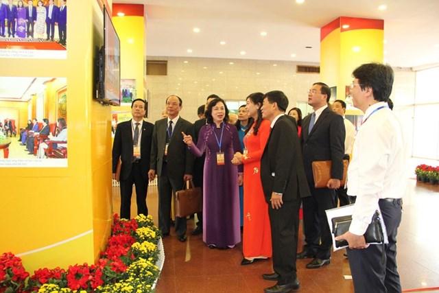 Bà Nguyễn Lan Hương tái đắc cử Chủ tịch Mặt trận thành phố Hà Nội - 2