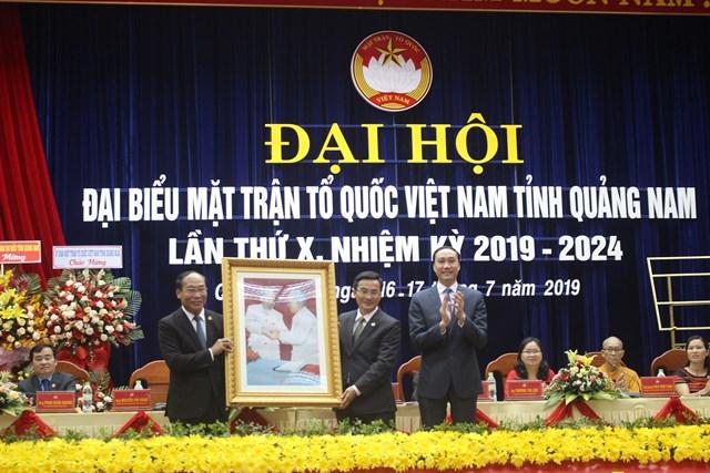 Ông Võ Xuân Ca tái đắc cử Chủ tịch MTTQ tỉnh Quảng Nam - 2