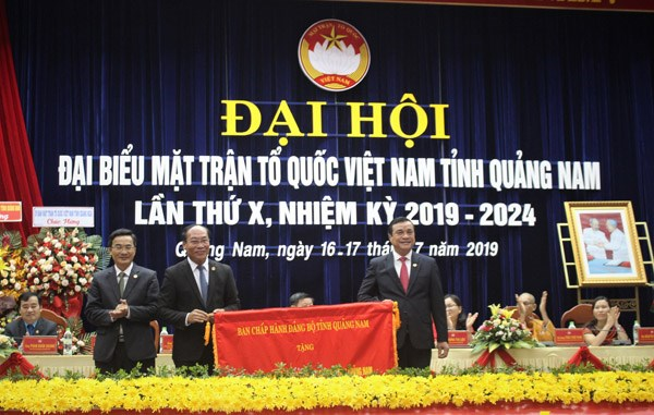Ông Võ Xuân Ca tái đắc cử Chủ tịch MTTQ tỉnh Quảng Nam - 3