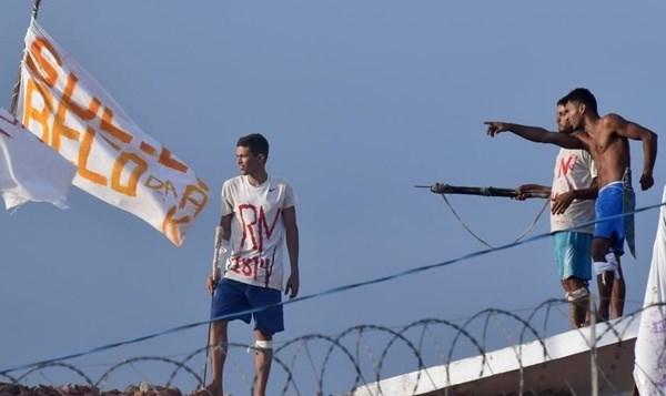 Bạo loạn tại nhà tù Brazil, 7 phạm nhân tử vong