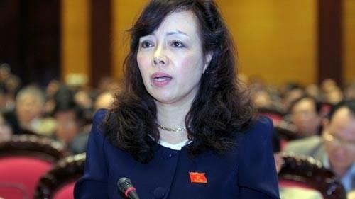 Bà Nguyễn Thị Kim Tiến làm Bộ trưởng Y tế đến hết khóa