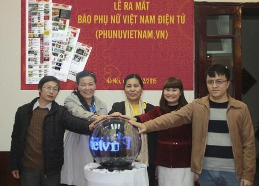 Báo Phụ nữ Việt Nam ra mắt phiên bản điện tử