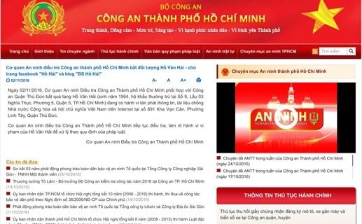 Bắt chủ blog 'BS Hồ Hải'