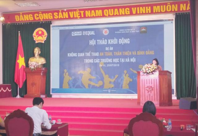 Hà Nội: Thúc đẩy không gian thể thao an toàn, thân thiện và bình đẳng trong trường học