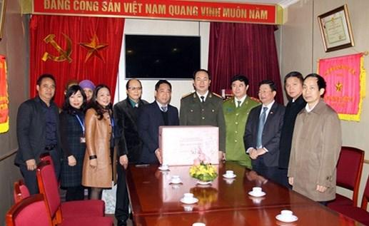 Bộ trưởng Trần Đại Quang dâng hương tưởng niệm Chủ tịch Hồ Chí Minh - 2