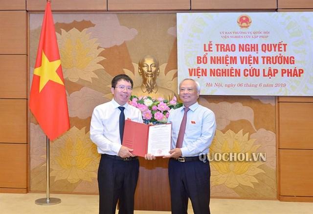 Ủy ban Thường vụ Quốc hội bổ nhiệm nhân sự mới