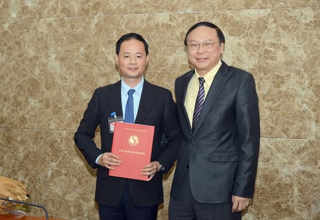 Ông Trần Hồng Thái giữ chức Tổng cục trưởng Tổng cục Khí tượng Thủy văn