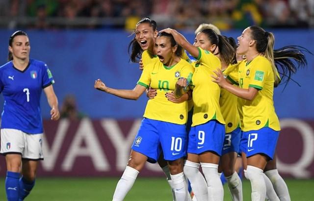 World Cup nữ 2019: Đã xác định được 14 đội tuyển vào vòng 1/8