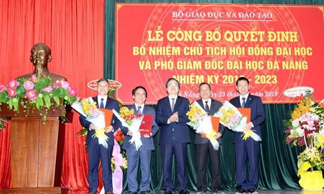Bộ Giáo dục và Đào tạo bổ nhiệm Chủ tịch Hội đồng Đại học Đà Nẵng