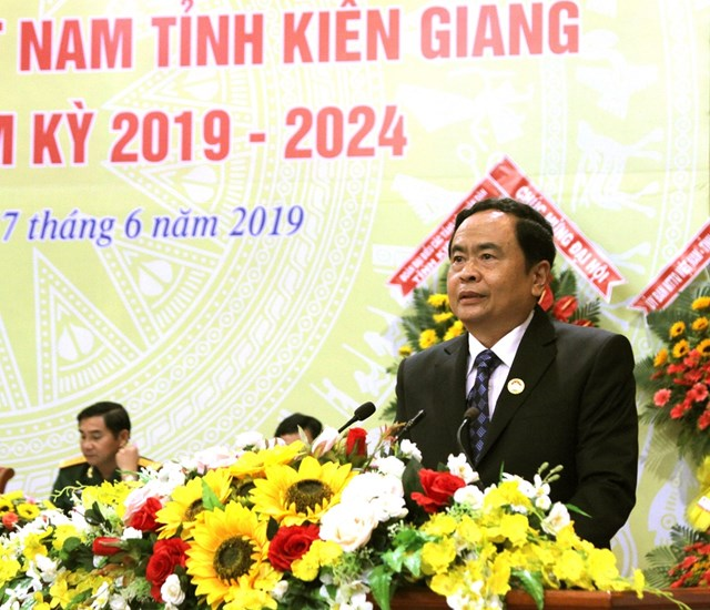 BẢN TIN MẶT TRẬN: Chủ tịch Trần Thanh Mẫn dự Đại hội đại biểu MTTQ Việt Nam tỉnh Kiên Giang