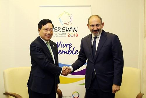 Phó Thủ tướng Phạm Bình Minh hội kiến Tổng thống, Thủ tướng Armenia - 2