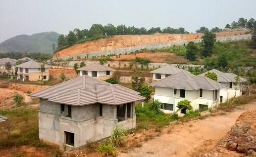 'Cạo trọc' đồi xanh, xây biệt thự bỏ hoang - 1