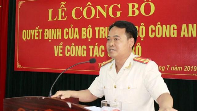 Bộ Công an bổ nhiệm tân Trưởng Công an TP Thanh Hóa