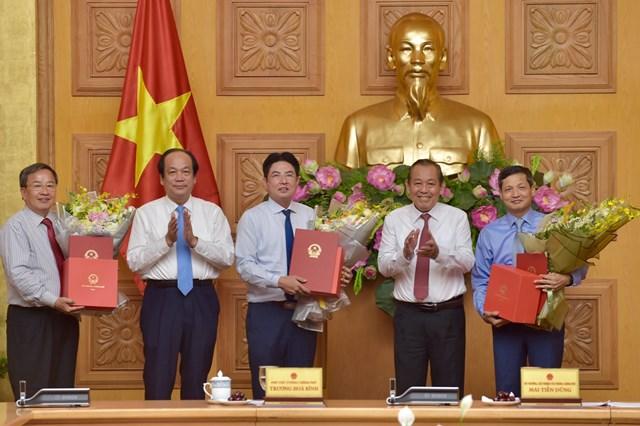 Trao quyết định bổ nhiệm Phó Chủ nhiệm Văn phòng Chính phủ - 1