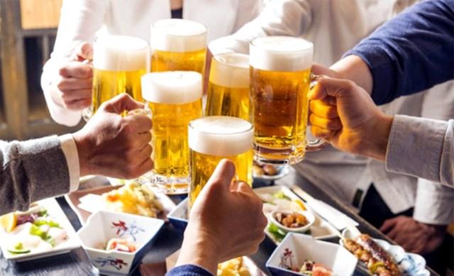 Báo động mức độ tiêu thụ rượu bia