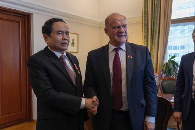 Tăng cường gắn bó, nâng cao hiệu quả hợp tác Việt Nam - LB Nga