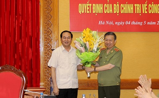 Thượng tướng Tô Lâm giữ chức Bí thư Đảng ủy Công an TW