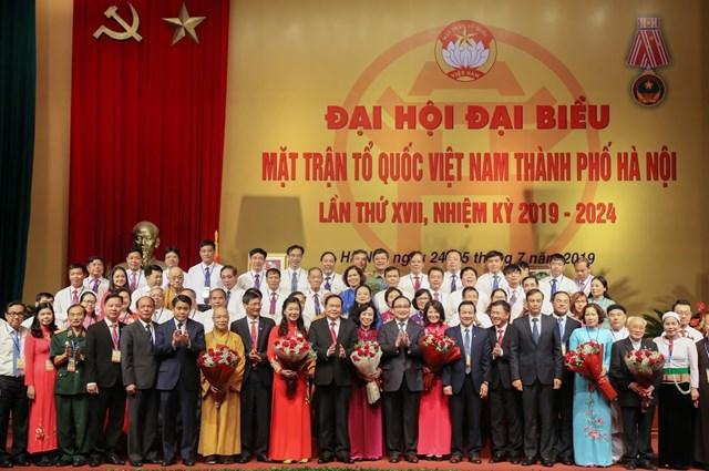 MTTQ TP Hà Nội tổ chức Đại hội MTTQ và đón nhận Huân chương Độc lập hạng Nhất - 8