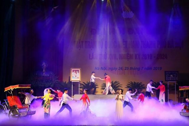 MTTQ TP Hà Nội tổ chức Đại hội MTTQ và đón nhận Huân chương Độc lập hạng Nhất - 10