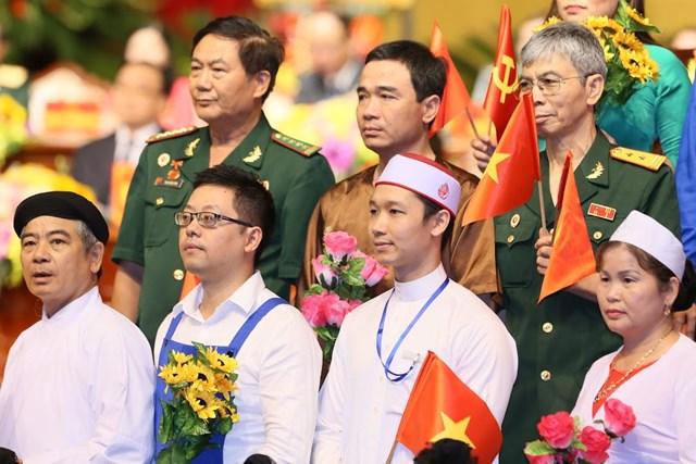 MTTQ TP Hà Nội tổ chức Đại hội MTTQ và đón nhận Huân chương Độc lập hạng Nhất - 9