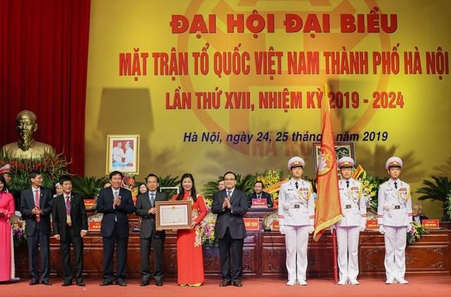 MTTQ TP Hà Nội tổ chức Đại hội MTTQ và đón nhận Huân chương Độc lập hạng Nhất - 5