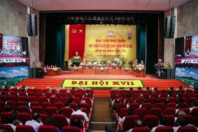 MTTQ TP Hà Nội tổ chức Đại hội MTTQ và đón nhận Huân chương Độc lập hạng Nhất - 3