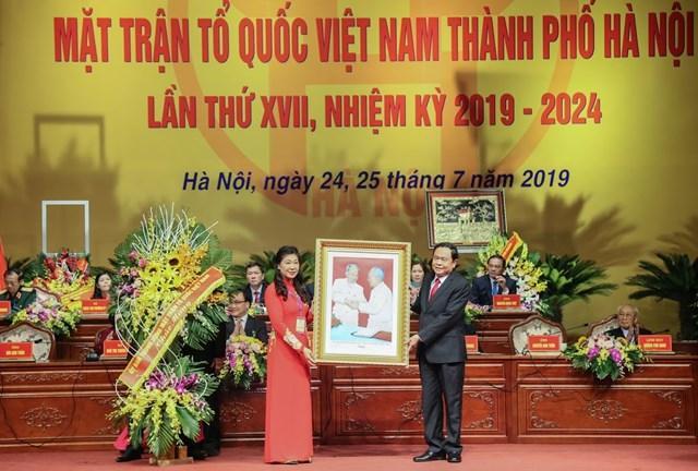 MTTQ TP Hà Nội tổ chức Đại hội MTTQ và đón nhận Huân chương Độc lập hạng Nhất - 7
