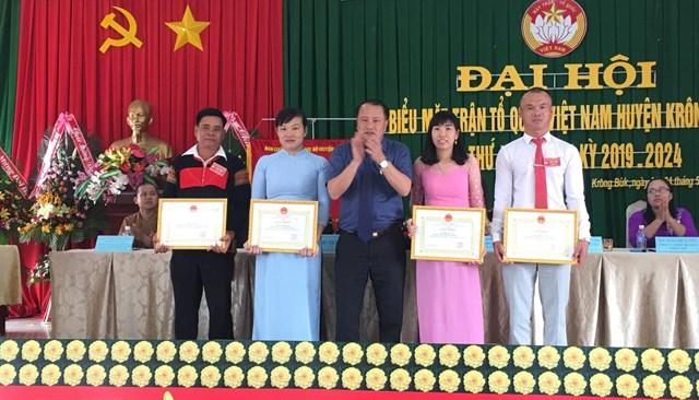 Tổ chức thành công Đại hội MTTQ Việt Nam huyện Krông Búk