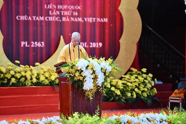 Thông điệp Đại lễ Phật đản PL.2563 – DL.2019 của Đức Pháp Giáo hội Phật giáo Việt Nam