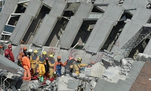 Đài Loan: 89 người thiệt mạng và 550 người bị thương do động đất