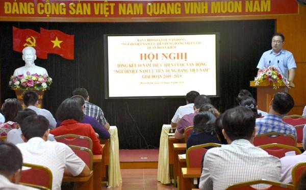 Xây dựng thương hiệu hàng Việt trong lòng người Việt