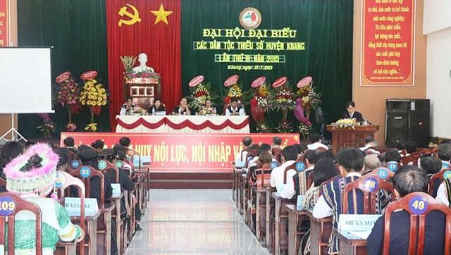 Gia Lai: Đại hội đại biểu các DTTS huyện Kbang lần thứ III