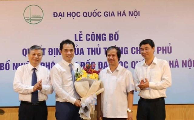 Đại học Quốc gia Hà Nội có tân Phó Giám đốc