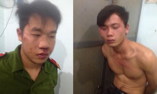 Bắt 2 kẻ giả công an cướp xe máy