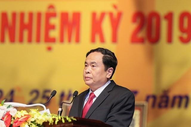 MTTQ TP Hà Nội tổ chức Đại hội MTTQ và đón nhận Huân chương Độc lập hạng Nhất - 2